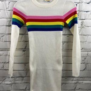 Fashion Nova knit stretch sweater dress